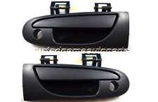 for Mitsubishi Smooth Outside Outer Exterior Door Handle Left Right Front Pair