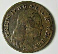 REGNO DI NAPOLI 8 TORNESI 1796 zecca NAPOLI BB originale CU