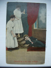 """POSTCARD COMIC  EARLY 1900S """"THERE'LL BE A HOT TIME TONIGHT"""""""