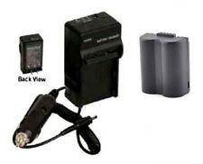 Battery + Charger For Panasonic DMC-FZ7EEK DMC-FZ7EES DMC-FZ7EFK DMC-FZ7EFS