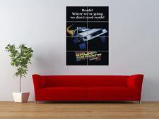 Volver Al Futuro 2 Delorean Clásico De Culto Gigante impresión arte cartel del panel nor0185