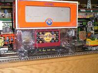 Toy Train Lionel Hard Rock Cafe Flatcar with Billboards 6-26308