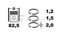 R1006700 Kolbenringsatz VW AUDI SEAT SKODA 2,0 2,8 i TOYOTA 1,3i 78198151