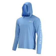 Huk Performance Fishing Icon Hoodie Pullover - Mens Carolina Blue Large H120