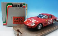 Ferrari 275 GTB4 Targa Florio 8430  1/43  Model Box  Made in Italy