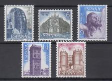 SPAIN (1982) - MNH - Sc# 2304/08 - EDIFIL 2676/80 LANDSCAPES & MONUMENTS