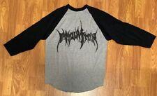 Immolation - Echoes Of Despair - Baseball Tour Shirt - RARE - Size Medium - 2013