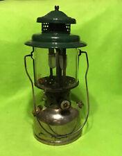 Vintage ~ 1929 ~ Lantern ~ Coleman ~ Instant Lite ~ 220B ~ Green ~ Silver