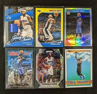 Lot of (6) Terrence Ross, Including Jersey patch, Optic/Prizm parallel & inserts