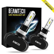 H1 LED Headlight 6500K High Beam Bulbs for Hyundai Elantra Sonata Genesis Coupe