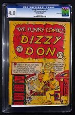 DIZZY DON COMICS # 8 CGC 4.0 - Canadian Edition - 1st Annual Canadiana Auction