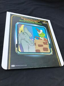 Dr. Seuss How The Grinch stole Christmas CED Capacitance Electronic Disc System