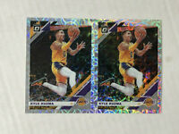 KYLE KUZMA LOT OF 2 2019-20 Donruss Optic SILVER SCOPE PRIZM SP's /249! LAKERS!