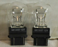 GE 3057 12V,27W,E40 clear glass automotive lamps,Twin Pack,new !!!