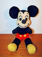"VTG Antique Micky Mouse 20"" Stuffed Animal Plush Disney Doll LG Classic Walt MM"