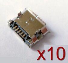 10x connecteur à souder micro USB type B femelle /10x Female connector to solder