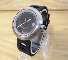 Mens Retro Ted Baker Iconic Endurance TBE047BK Black Rally Style Sports Watch
