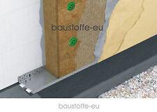 WDVS Rockwool Fassadendämmung - Putzträgerplatte Steinwolle WLG 036 - 140 mm