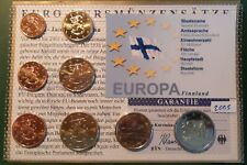 Version 2 2005 Finland 9-Coin Brilliant Uncirculated Coin Set