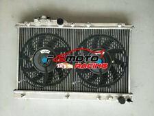 Radiator + FANS FOR Toyota Celica GT4 ST202 ST205 3SGTE 2.0 16V TURBO MT 1994-99