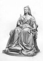 HER MAJESTY MONARCH ALEXANDRINA QUEEN VICTORIA ~ Old 1878 Art Print Engraving
