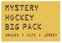 MYSTERY HOCKEY BIG PACK / CARDS | Graded, Auto, #'d or Jersey Hits | $50-$100 BV