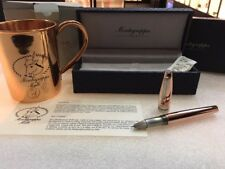MONTEGRAPPA MULE ROLLERBALL PEN WITH COPPER CUP - NEW IN BOX