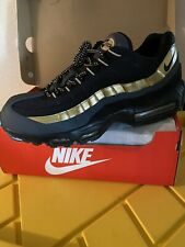 Nike Air Max 95 Prm Black/ Metallic Gold Anthrct Size 13 Great Condition