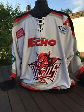 Cardiff Devils Dion Darling Gameworn Jersey Ice Hockey 2006-07