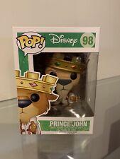 Price John Funko Pop - #98 - Disney - Robin Hood - Vaulted/Retired