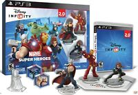 Disney INFINITY PS3 Marvel Super Heroes 2.0 Edition Starter Pack Avengers New