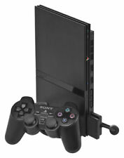 Sony PS2 PlayStation 2 Console Slim Black Very Good 6Q
