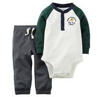 Carters Infant Boys 2pc Set Pants Outfit Size- NB ,3M NWT