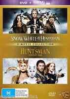 Snow White and The Huntsman / The Huntsman - Winter's War (2-Disc Set) NEW DVD