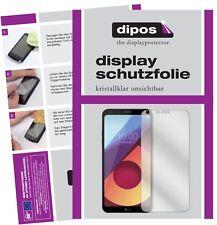 2x LG Q6+ Protector de Pantalla protectores transparente dipos
