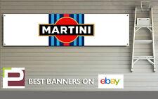 MARTINI RACING LOGO Motorsport banner per Officina, Garage, Pitlane etc