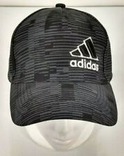 Adidas Baseball Cap  Black / Gray Adjustable Polyester Hat NWOT