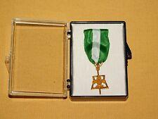 VINTAGE BSA BOY SCOUTS OF AMERICA 1/20 10K GOLD SCOUTER'S KEY NO. 5103 MEDAL