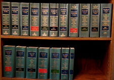 Standard California Codes 1990-'08 Ed. 16 Law Books(missing '93,'94,'04,'07) HC