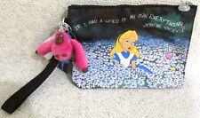 Disney Alice In Wonderland Kipling Nwt Purse Wristlet In Hand Rare