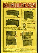 1921 ADVERTISEMENT Amer Glass Kitchen Cupboard Cabinet Hoosier Seller Type