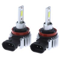 H11 LED Headlight Super Bright Bulbs Kit 330000LM HI/LO Beam 6000K NewTECA