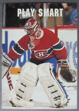 1991-92 Pro Set Play Smart #613 Patrick Roy Montreal Canadiens