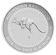 2018-P Australia 1 oz Platinum Kangaroo - $100 Coin GEM BU SKU49082