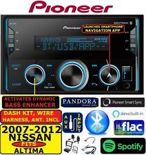 FITS 2007-2012 NISSAN ALTIMA  PIONEER BLUETOOTH USB AUX CAR RADIO STEREO PKG
