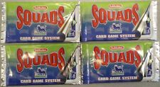 SUBBUTEO SQUADS FOOTBALL CARDS TRADING CARDS Unopened Packets x 4