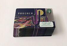 2017 Starbucks Phoenix Card - Lot of 25