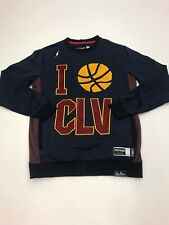 Post Game I Love Cleveland Cavs crewneck Sweater size LARGE 100%AUTHENTIC nice