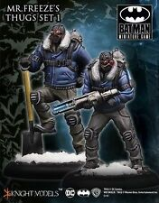 Batman Miniature Game Mr Freeze's Thugs Set I NIB