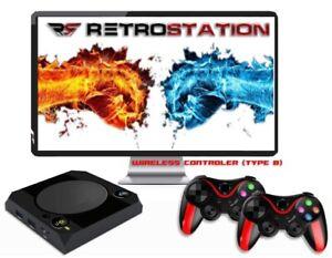 Retrostation 14k retro tv game console +16500 games built - in video retro games